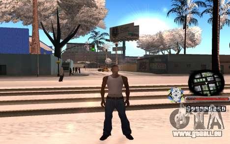 Schöne C-HUD für GTA San Andreas