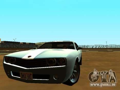 GTA 5 Bravado Gauntlet für GTA San Andreas linke Ansicht