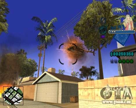 C-HUD Old Rifa pour GTA San Andreas cinquième écran