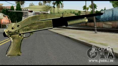 Pump Shotgun from Max Payne pour GTA San Andreas deuxième écran