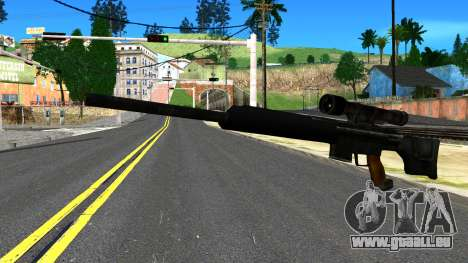Sniper Rifle from GTA 4 pour GTA San Andreas
