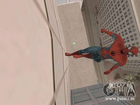 Spiderman 3 Crawling für GTA San Andreas