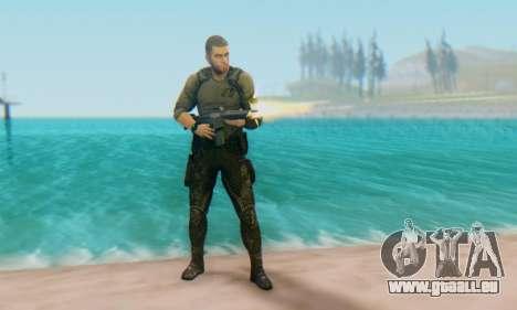 Sam Fisher - Paladin Outfit (Splinter Cell Black für GTA San Andreas zweiten Screenshot