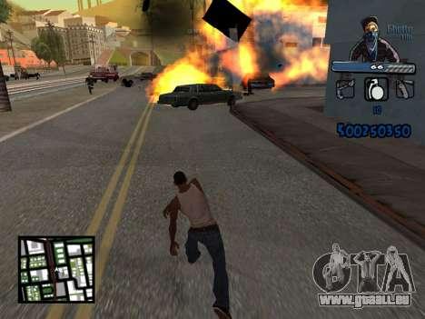C-HUD Unique Ghetto für GTA San Andreas fünften Screenshot