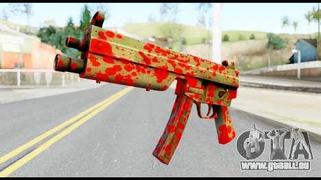 MP5 with Blood für GTA San Andreas
