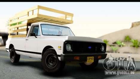Chevrolet C10 1972 für GTA San Andreas