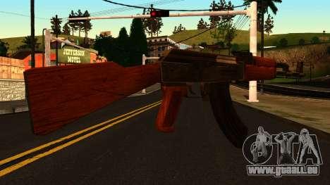 AK47 from GTA 4 für GTA San Andreas zweiten Screenshot