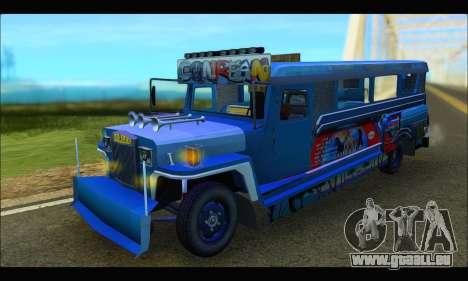 Jeepney Morales pour GTA San Andreas