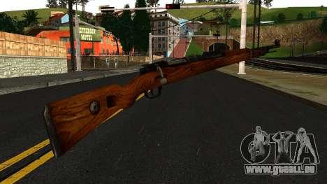 Mauser 98K from Wolfenstein 2009 pour GTA San Andreas deuxième écran