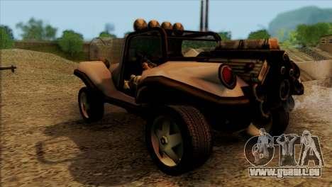 New BF Injection pour GTA San Andreas sur la vue arrière gauche