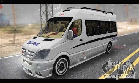 Mercedes Benz Sprinter Okul Tasiti V2 pour GTA San Andreas