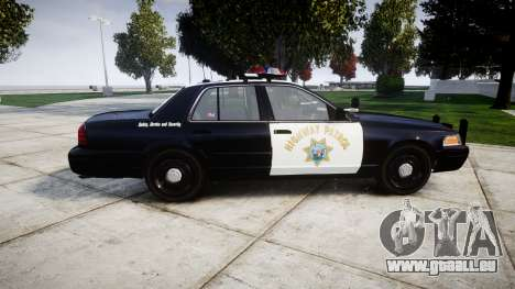 Ford Crown Victoria Highway Patrol [ELS] Vision pour GTA 4 est une gauche
