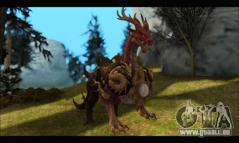 Kirin Dragon (TERA Online) für GTA San Andreas
