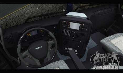 Iveco Trakker 2014 Tipper Snow (IVF & ADD) pour GTA San Andreas vue de droite