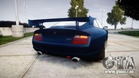 Pfister Comet GT v3.0 pour GTA 4 Vue arrière de la gauche