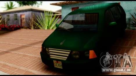 New Moobeam pour GTA San Andreas sur la vue arrière gauche