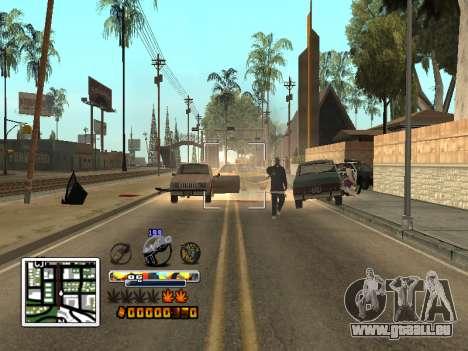 C-HUD Farbe (verbessert) für GTA San Andreas her Screenshot