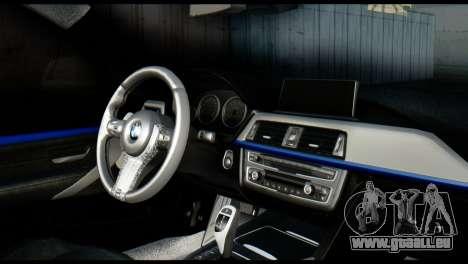 BMW 4-Series Coupe M Sport 2014 für GTA San Andreas zurück linke Ansicht