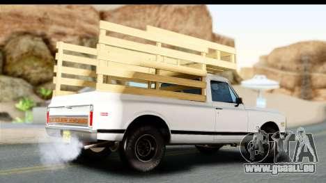 Chevrolet C10 1972 für GTA San Andreas linke Ansicht