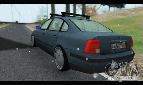 VW Passat pour GTA San Andreas vue de droite