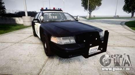 Ford Crown Victoria Highway Patrol [ELS] Vision pour GTA 4