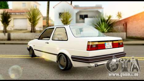Volkswagen Jetta A2 Coupe pour GTA San Andreas laissé vue
