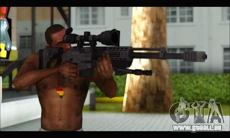 Raab KM50 Sniper Rifle From F.E.A.R. 2 pour GTA San Andreas troisième écran