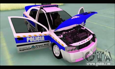 Chevrolet Astra Policia Vial Bonaerense pour GTA San Andreas vue de droite