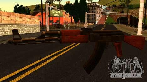 AK47 from GTA 4 für GTA San Andreas