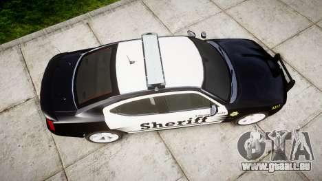 Dodge Charger SRT8 2010 Sheriff [ELS] rambar für GTA 4 rechte Ansicht