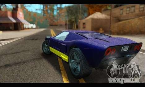 Vapid Bullet Gt (GTA IV) (LC Plate) pour GTA San Andreas vue de droite