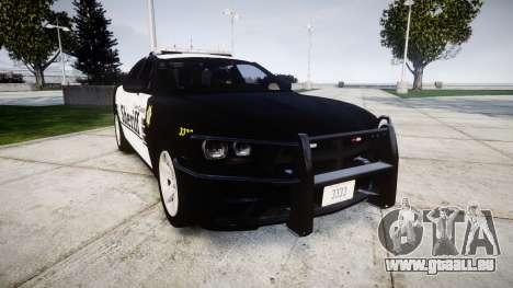 Dodge Charger 2013 County Sheriff [ELS] v3.2 für GTA 4