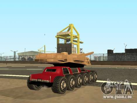 Tink Tank für GTA San Andreas linke Ansicht