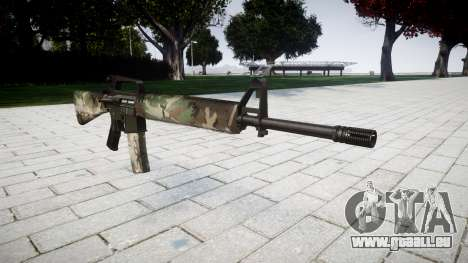 Die M16A2 Gewehr Wald für GTA 4