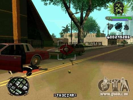 C-HUD Marihaus pour GTA San Andreas quatrième écran