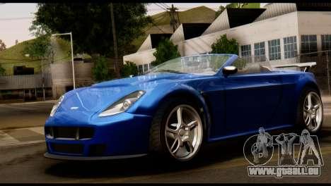GTA 5 Dewbauchee Rapid GT Cabrio [HQLM] pour GTA San Andreas laissé vue