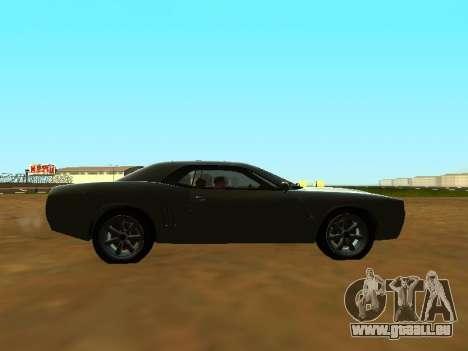 GTA 5 Bravado Gauntlet pour GTA San Andreas vue de côté