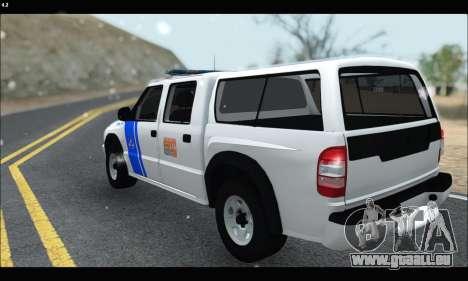 Chevrolet S-10 P.N.A für GTA San Andreas zurück linke Ansicht