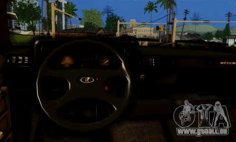 VAZ 2105 Combat Classic für GTA San Andreas Innenansicht