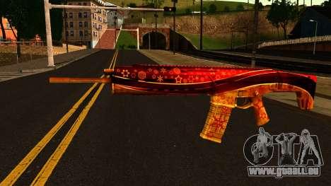 La Veille du nouvel An, un Fusil d'Assaut pour GTA San Andreas