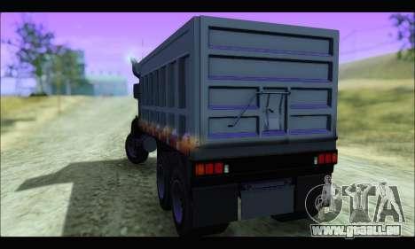 HVY Biff (GTA IV) pour GTA San Andreas laissé vue