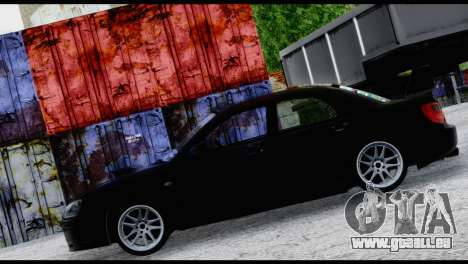 Subaru Impreza Hellaflush 2004 für GTA San Andreas Innenansicht