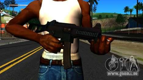 UMP9 from Battlefield 4 v1 für GTA San Andreas dritten Screenshot