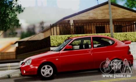 Lada Priora Sport pour GTA San Andreas sur la vue arrière gauche