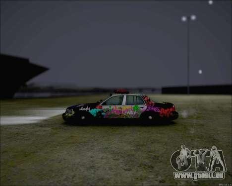 Ford Crown Victoria Ghetto Style für GTA San Andreas zurück linke Ansicht