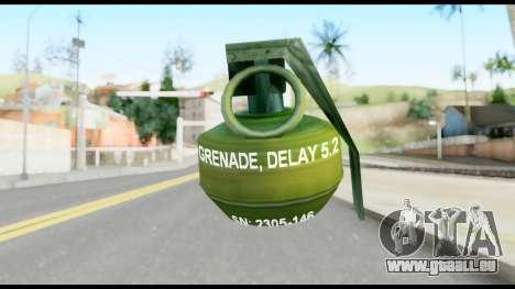 MGS1-2 Grenade from Metal Gear Solid für GTA San Andreas zweiten Screenshot