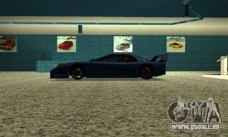 HD Turismo pour GTA San Andreas laissé vue
