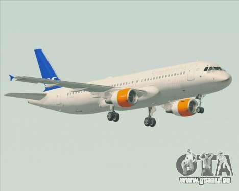 Airbus A320-200 Scandinavian Airlines - SAS für GTA San Andreas Seitenansicht