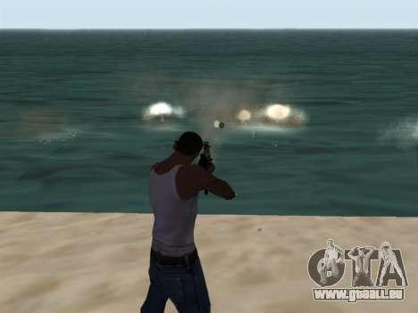 New Effects Pack White Version pour GTA San Andreas deuxième écran