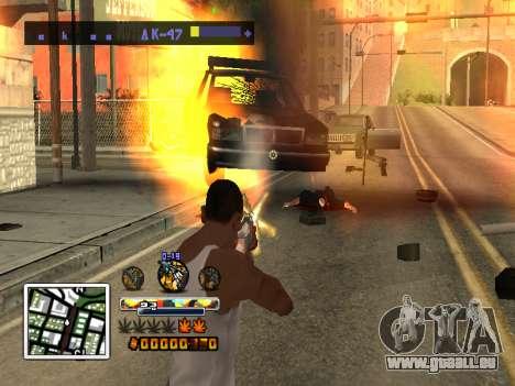 C-HUD Farbe (verbessert) für GTA San Andreas dritten Screenshot